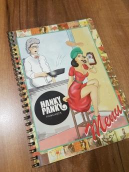 Hanky Panky menu