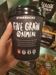 Starbucks 5 grain oatmeal
