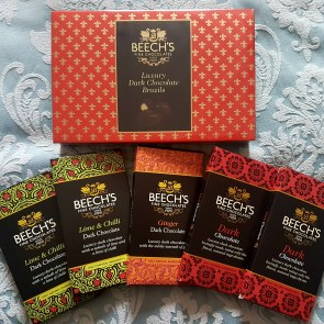 Vegan chocolate by Beeches fine chocolates