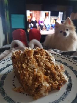 Homemade gluten free carrot cake