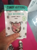 Candy kittens watermelon gluten free vegan sweeties