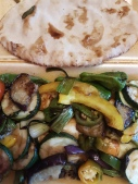 Gluten free greek pita from Nikos in Castle Dougles