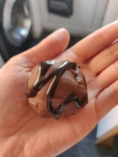 Gluten free vegan chocolate cake ball