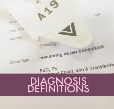 diagnosis definitions
